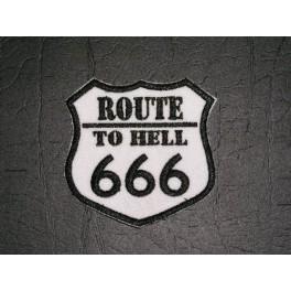 Nášivka Route 666